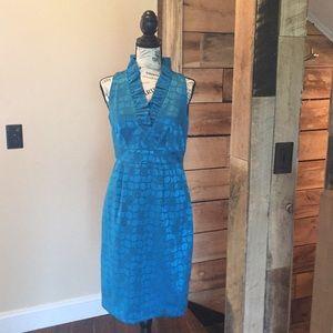 """London Times"" size: 6 dress in royal blue"